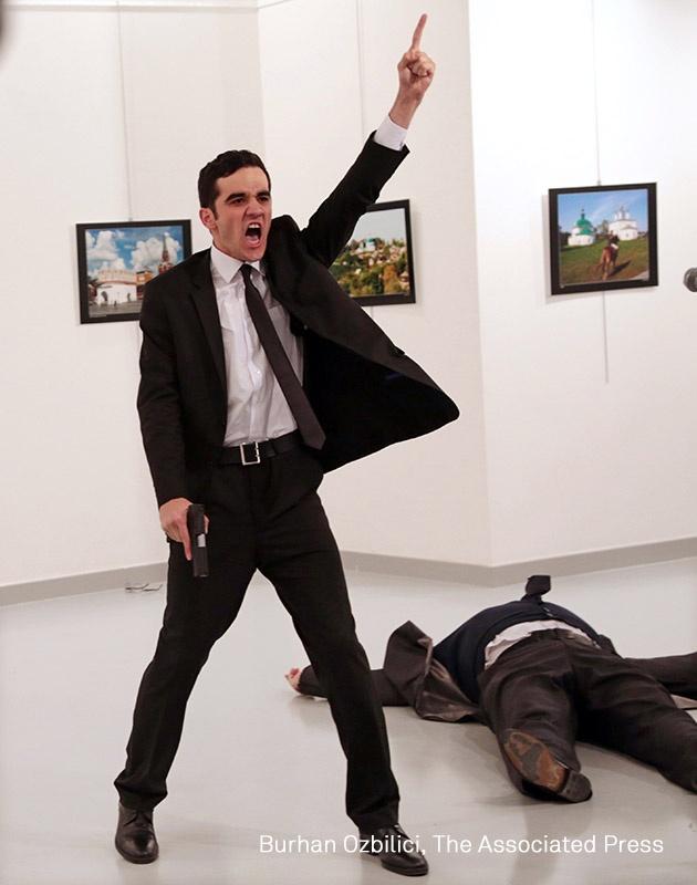 © Burhan Ozbilici, The Associated Press